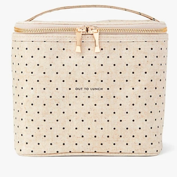 """Kate Spade New York """"Out To Lunch"""" Bag Cooler Tote"""